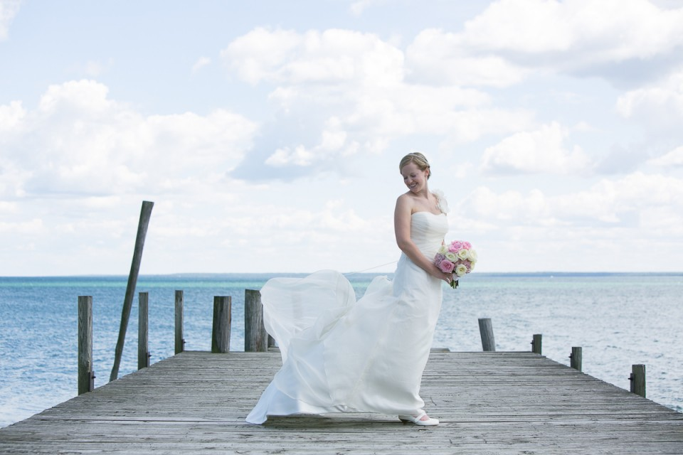 Bois Blanc Island Wedding